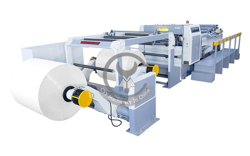 DFJ-F Servo Drive Rotary-blade Sheeting Machine