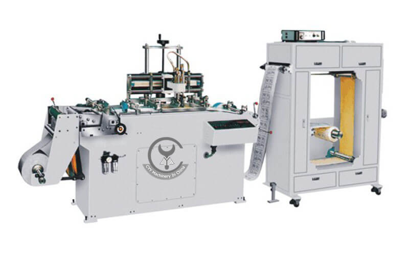 WQ-320 CNC Continuous Screen Printing Machine