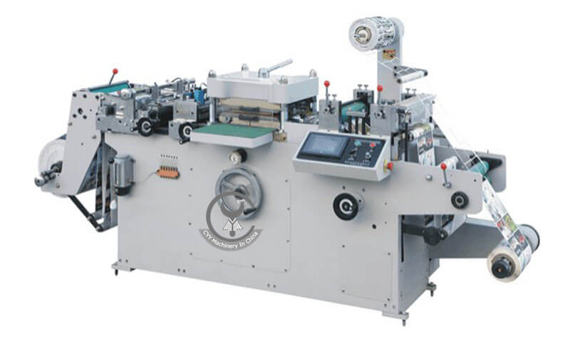 WQM-320G/420 Automatic Self-Adhesive Trademark Die-Cutting Machine