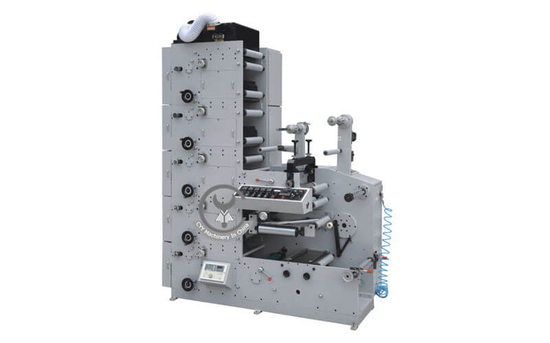 ZBS-320G/450G Type Three Cutting Position Flexo Printing Machine