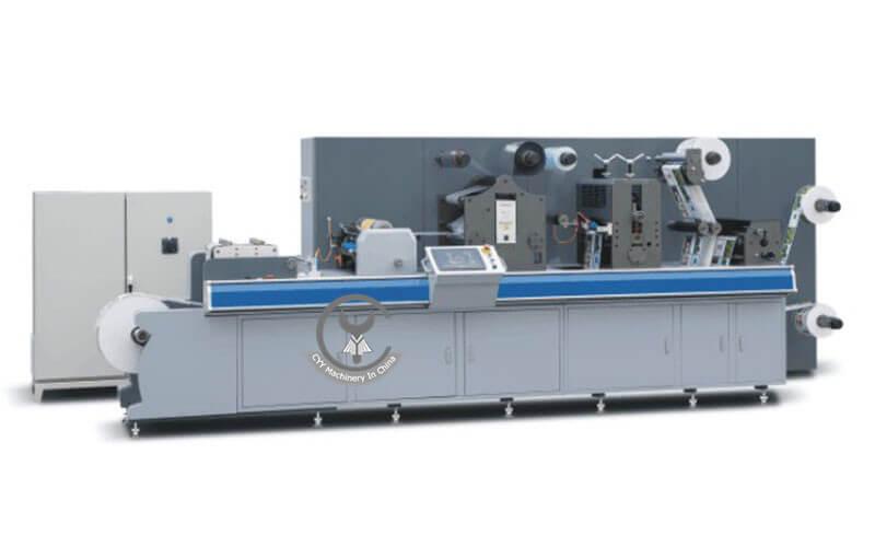 ZM-320 All Wheel Type Intermittent Trademark Cutting Machine