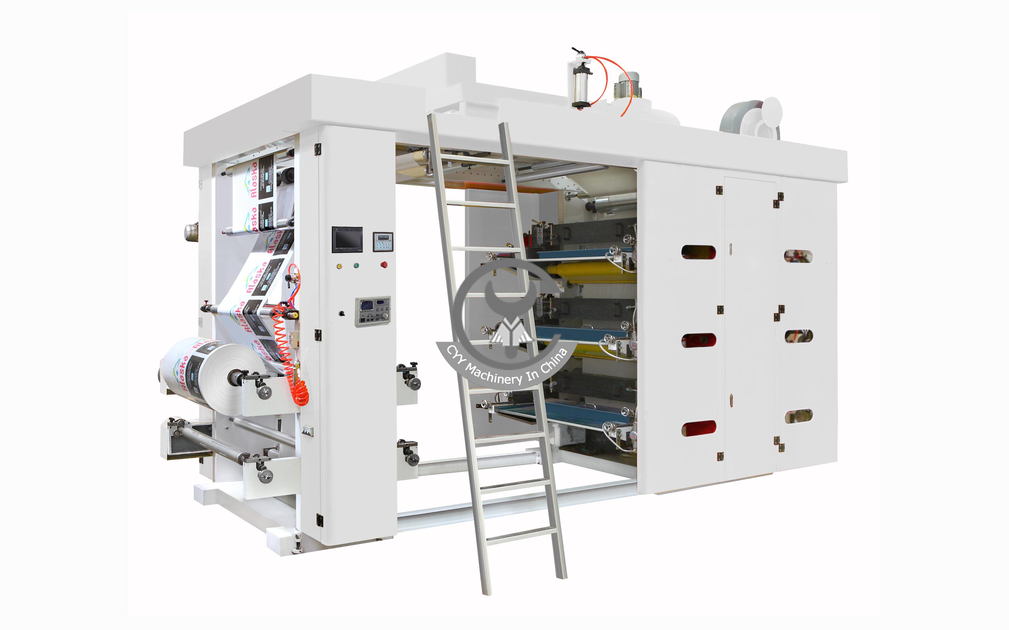 GYT Series 6 Color Flexo Printing Machine