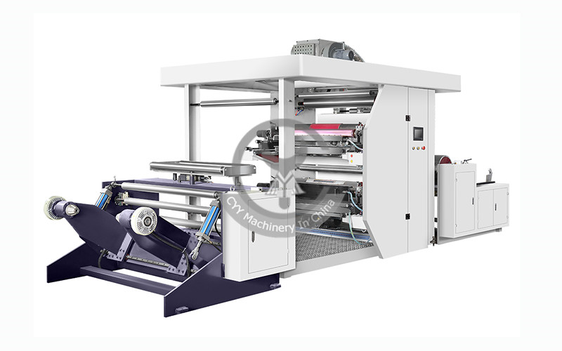 ZYT Series 2 Color Flexo Printing Machine with Hydraulic Loading