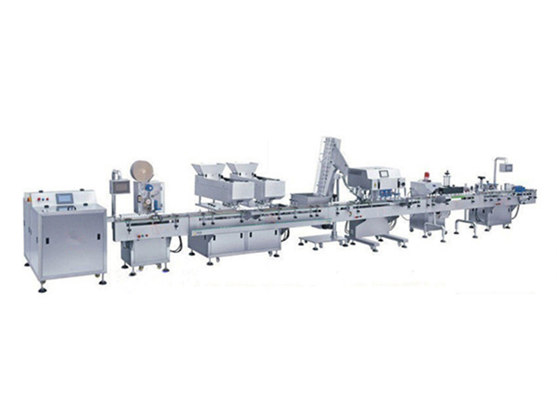 Electronic Counter Machine Tablet Bottle Counting Filling Machine Line